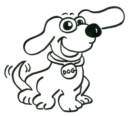 Kleurplaat Hond Algemene Informatie Honden Hondenrassen